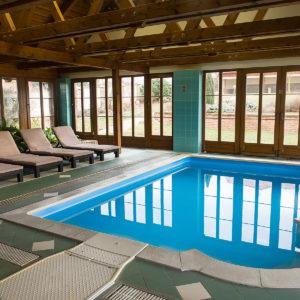 Relaxační zóna s bazénem