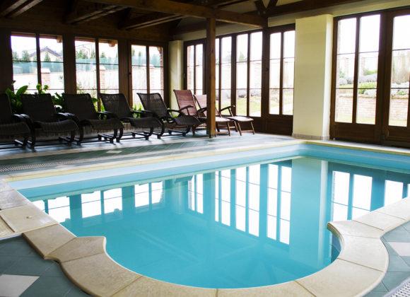 Wellness zóna s bazénem