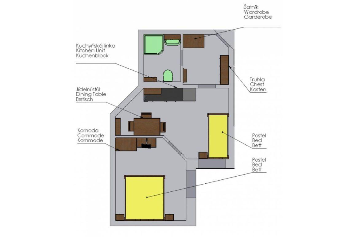 Apartmán POHODA (E)