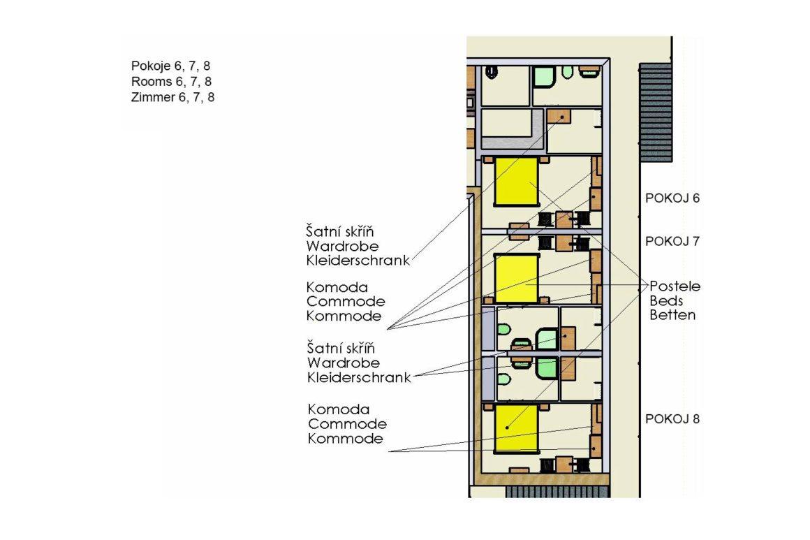 Dvoulůžkový pokoj (P8)