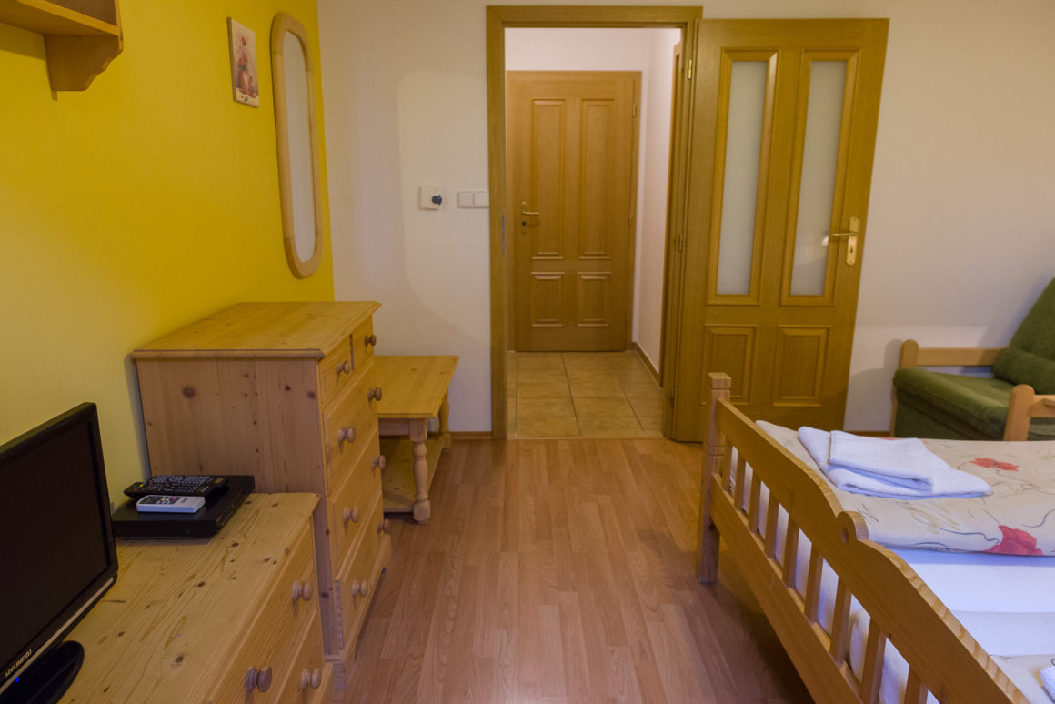 Dvoulůžkový pokoj s přistýlkou (P3)